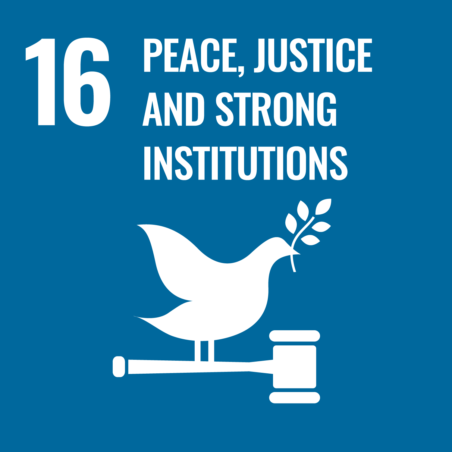 16 - Peace and Justice Strong Institutions