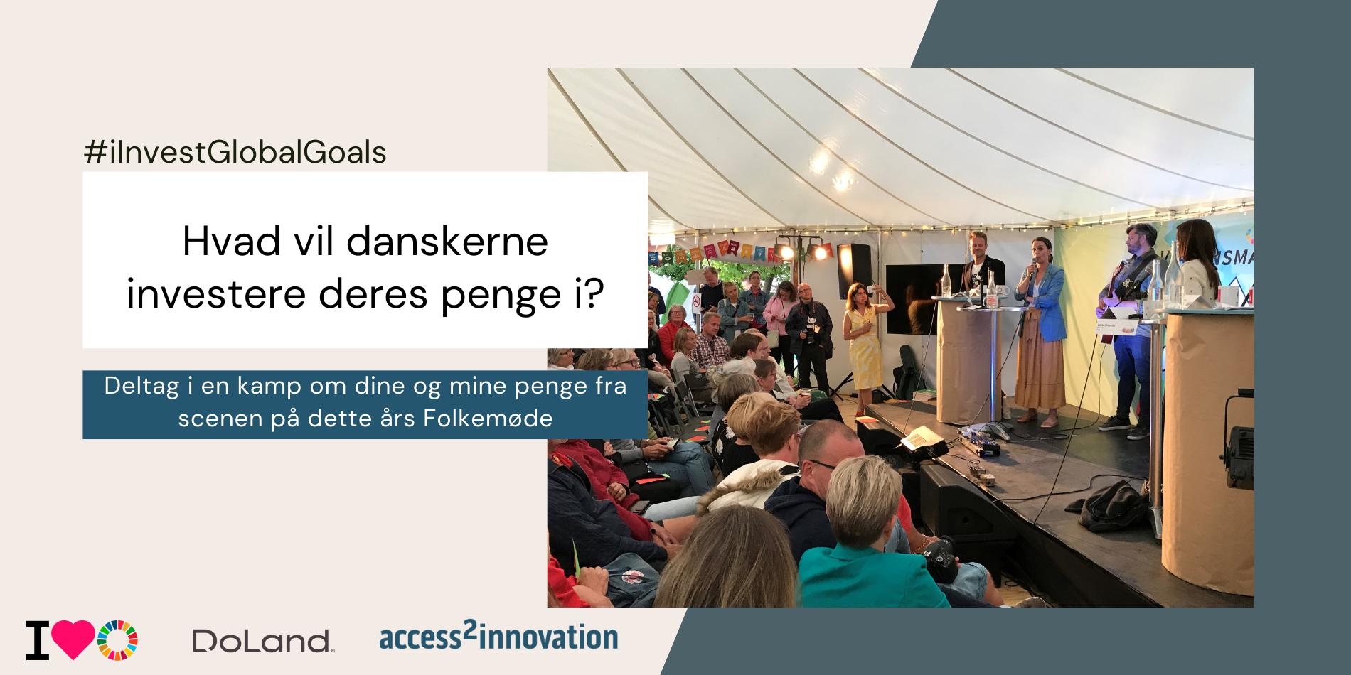 Se med live på FM2021, når vi undersøger, hvor danskerne vil investere deres penge